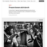 Die Zeit - Fighting for a better Life