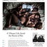 New York Times LENS   October 2016