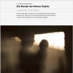 Die Wunder der kleinen Sophia    NZZ   april 2017