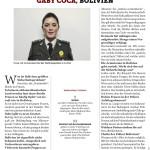 Gaby Coca, Bolivien   Stern Crime   February 2017